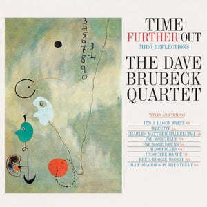 DAVE BRUBECK QUARTET - TIME FURTHER OUT VINYL