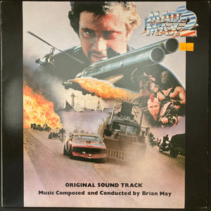 BRIAN MAY - MAD MAX 2 OST (USED VINYL 1982 JAPAN M-/EX)