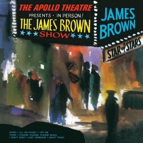 JAMES BROWN - LIVE AT THE APOLLO vinyl