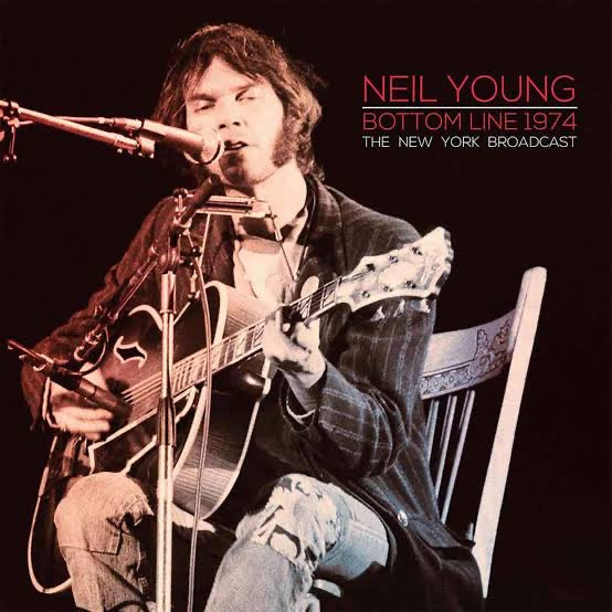 NEIL YOUNG - BOTTOM LINE 1974 THE NEW YORK BROADCAST (2LP) VINYL