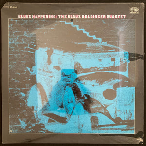 KLAUS DOLDINGER QUARTET - BLUES HAPPENING (SEALED) VINYL 1969 US