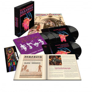 BLACK SABBATH - PARANOID (SUPER DELUXE 50TH ANNIVERSARY 5LP) VINYL BOX SET