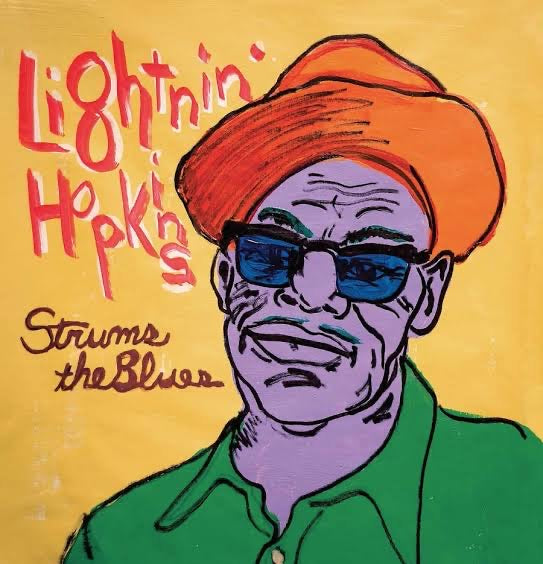 LIGHTNIN' HOPKINS - STRUMS THE BLUES VINYL