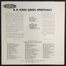 Load image into Gallery viewer, B.B. KING - SPIRITUALS (UNPLAYED) VINYL JAPAN