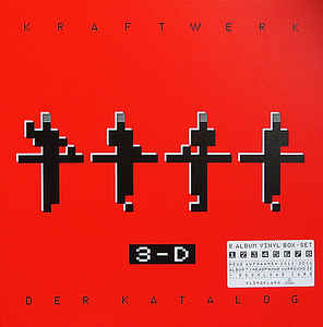 KRAFTWERK 3-D (der Katalogue) 8 x vinyl box set
