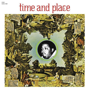 LEE MOSES - TIME AND PLACE VINYL