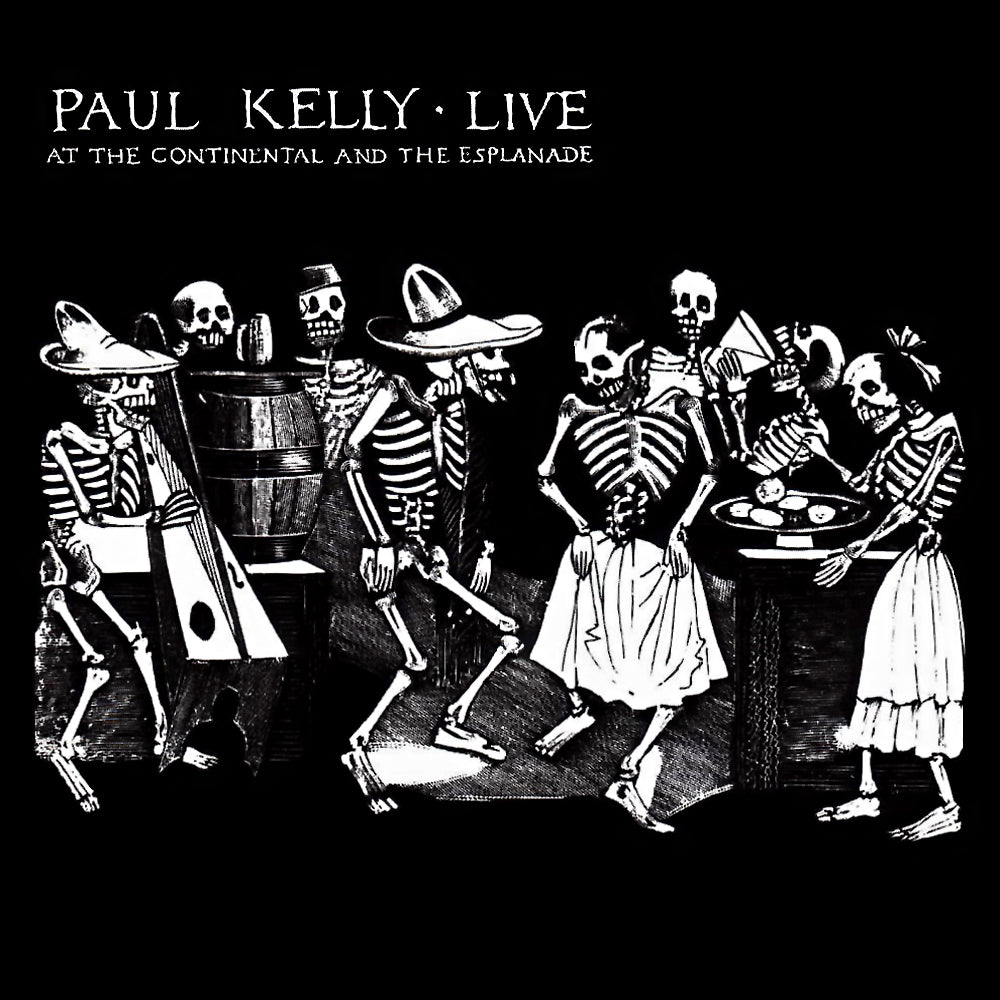 paul kelly - live at the continental and the esplanade (2LP) vinyl