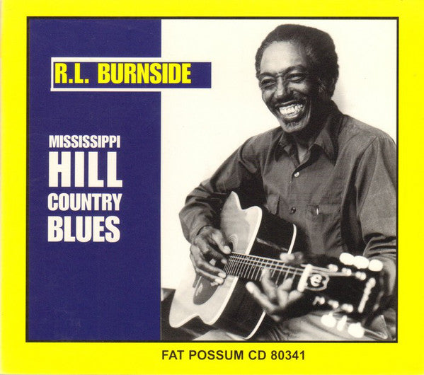 R.L. BURNSIDE - MISSISSIPPI HILL COUNTRY BLUES VINYL