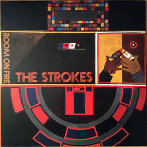 STROKES - ROOM'S ON FIRE VINYL
