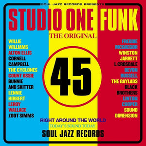 VARIOUS - studio one funk vinyl
