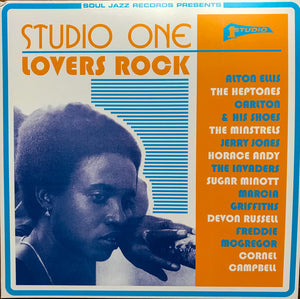 VARIOUS - studio one lovers rock vinyl