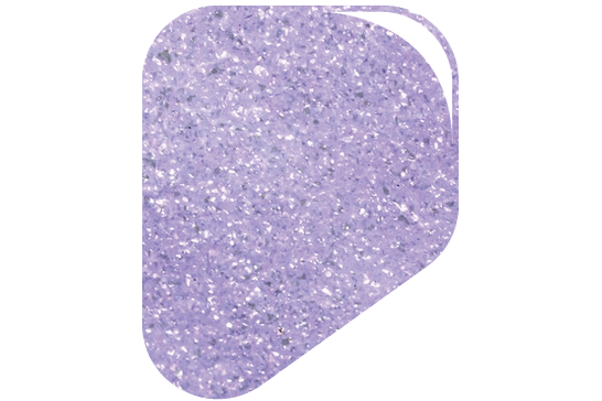 dipt pale iridescent lilac dip powder, lilac purple nail powder