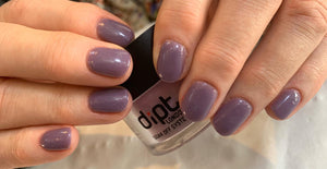 dipt trust plum purple nail dip powder