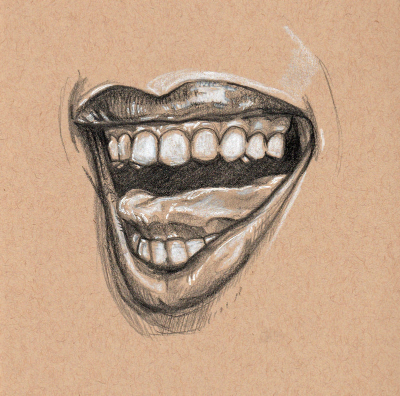 Introduction to Portraits: Drawing Lips with Ella Nilsson
