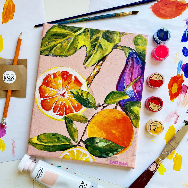 Acrylic Fruits with Morgan Greer