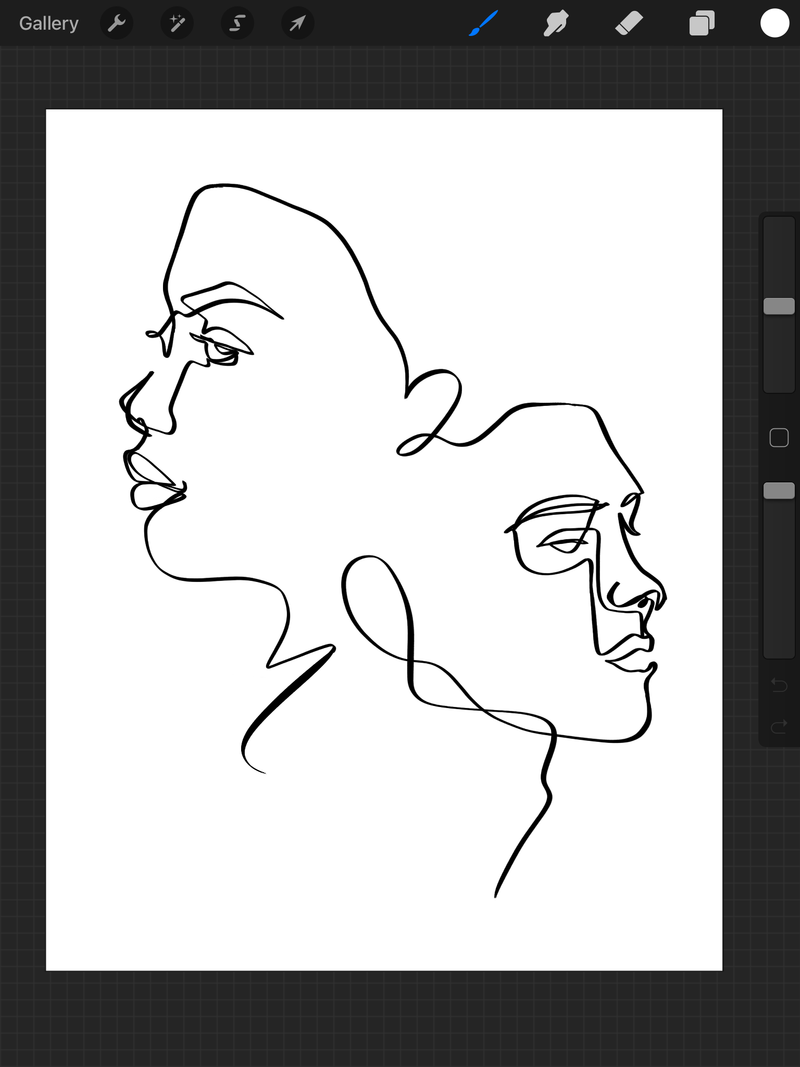 Procreate Line Drawing with Catie Lewis