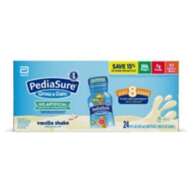 PediaSure Grow and Gain Vanilla for 8 weeks (pack of 27)