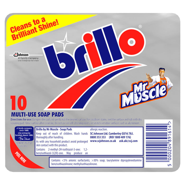 Brillo Soap Pads x10