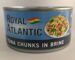 Royal Atlantic Tuna Chunks in Brine, 160g