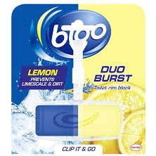 Bloo Lemon Duo Blast Toilet Rim Block