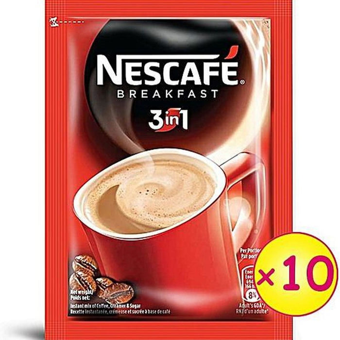 Nescafe Breakfast 3 in 1 (x10)