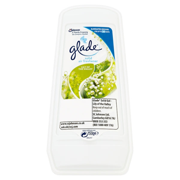 Glade Gel Air Freshner Lily of The Valley