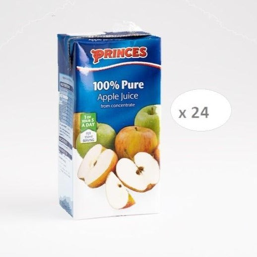 Princes Apple Juice 200ml (pack of 24)