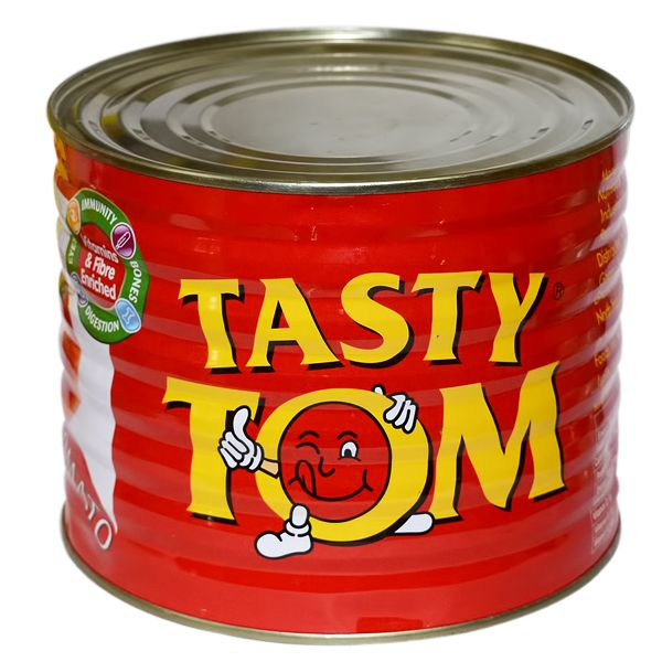 Tasty Tom Tomato Paste Tin 2.2kg