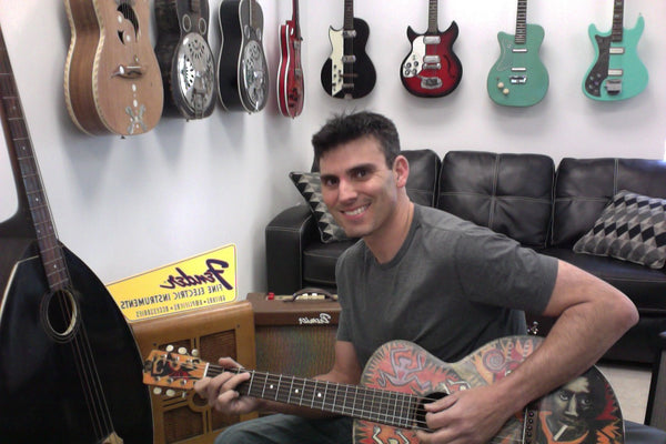 meet mike from vintage guitar gallery