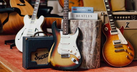 vintage guitar market on the rise