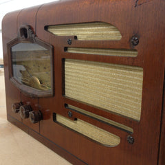 1937 Silvertone Model 4660 Table Radio - Vintage Guitar Gallery of Long Island | Vintage Guitar Shop