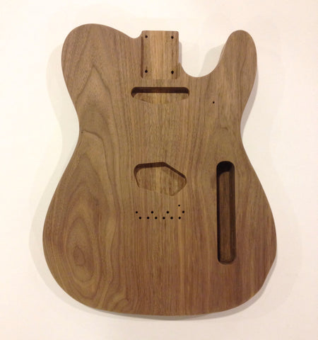 Black Walnut Telecaster Guitar Body - Vintage Guitar Gallery of Long Island | Vintage Guitar Shop