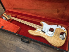 1973 Fender Precision Bass Natural Finish-Fender-Vintage Guitar Gallery of Long Island | Vintage Guitar Shop