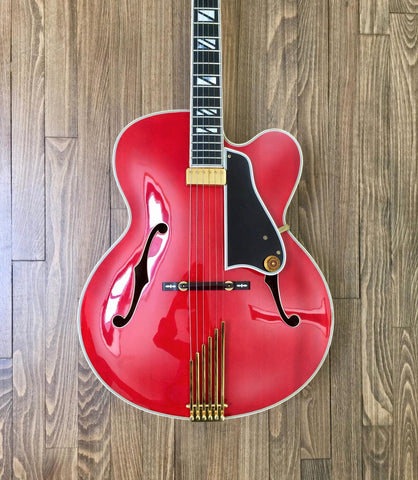 1991 Gibson Johnny Smith Guitar Custom Red