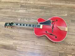 1991 Gibson Johnny Smith Custom Shop Special Red - Vintage Guitar Gallery of Long Island | Vintage Guitar Shop