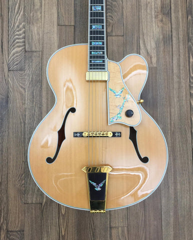 2000 Gibson Kalamazoo Award Blonde Archtop Guitar - Vintage Guitar Gallery of Long Island | Vintage Guitar Shop