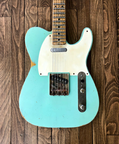 Kelton Swade 1957 Surf Green AVRT - Vintage Guitar Gallery of Long Island | Vintage Guitar Shop