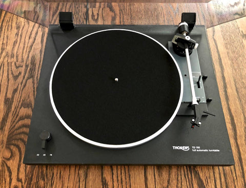 Thorens TD 185 Record Player - Vintage Guitar Gallery of Long Island | Vintage Guitar Shop