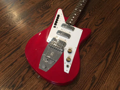 1965 Galanti Grand Prix 3003 Cherry Finish - Vintage Guitar Gallery of Long Island | Vintage Guitar Shop