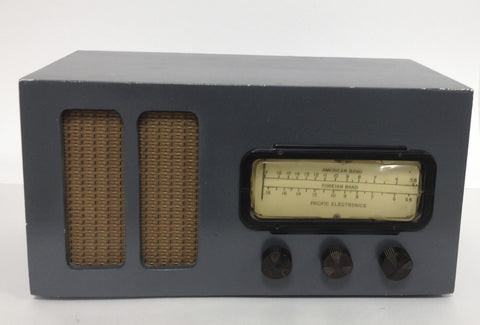 Pacific Electrics Tube Radio - Vintage Guitar Gallery of Long Island | Vintage Guitar Shop
