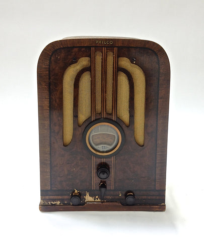 1937 Philco Model 37620 Tube Radio - Vintage Guitar Gallery of Long Island | Vintage Guitar Shop