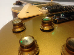 1974 Gibson Les Paul Deluxe Lefty Goldtop - Vintage Guitar Gallery of Long Island | Vintage Guitar Shop