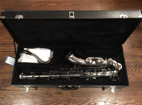 Cannonball Raven Stone Series Big Bell Tenor Saxophone - Vintage Guitar Gallery of Long Island | Vintage Guitar Shop