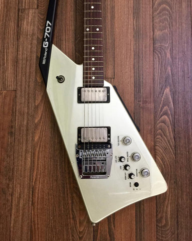 1984 Roland G-707 Guitar & GR-700 Stomp Box - Vintage Guitar Gallery of Long island  - 1