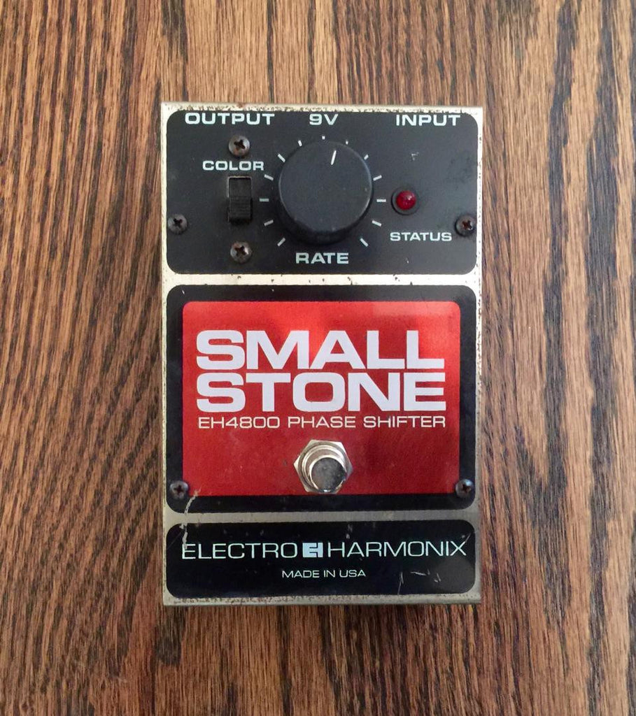 Electro Harmonix Small Stone EH4800 Phase Shifter USA Version 4 - Vintage Guitar Gallery of Long island  - 1