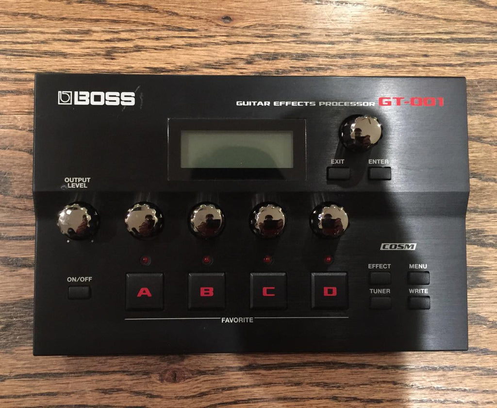 Boss GT-001 Guitar Effects Processor - Vintage Guitar Gallery of Long Island | Vintage Guitar Shop