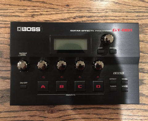 Boss GT-001 Guitar Effects Processor - Vintage Guitar Gallery of Long island  - 1