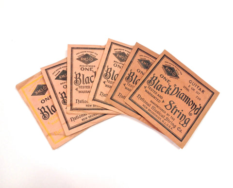 Vintage Black Diamond Guitar Strings - Vintage Guitar Gallery of Long Island | Vintage Guitar Shop