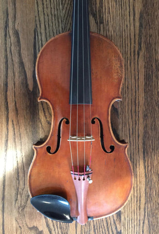 19th Century Antique German Stradivarius Violin - Vintage Guitar Gallery of Long Island | Vintage Guitar Shop