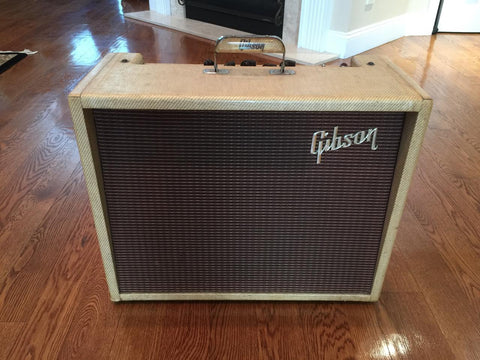 1960 Gibson Ranger GA-20T Tweed-Gibson-Vintage Guitar Gallery of Long Island | Vintage Guitar Shop